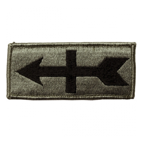 32nd Infantry Brigade Patch Foliage Green (Velcro Backed)