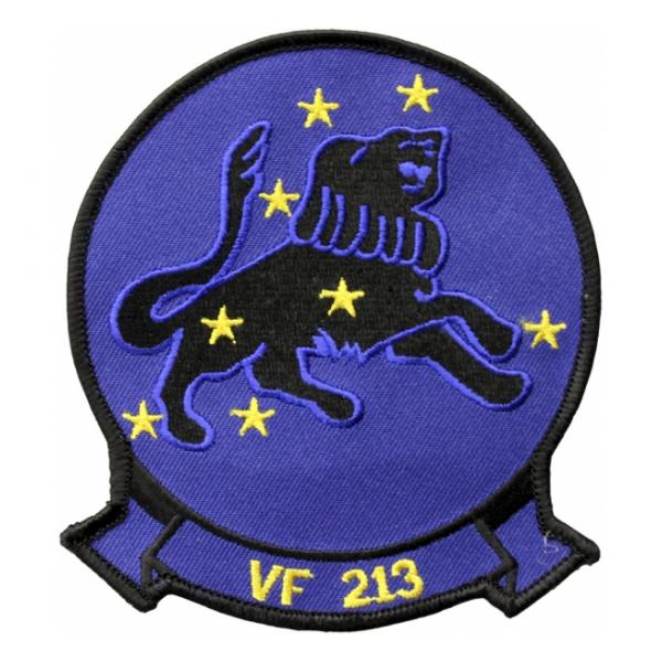 Navy Fighter Squadron VF-213 Black Lions Patch