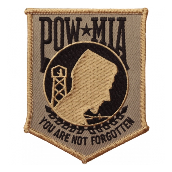 POW * MIA Patch (Tan & Black)