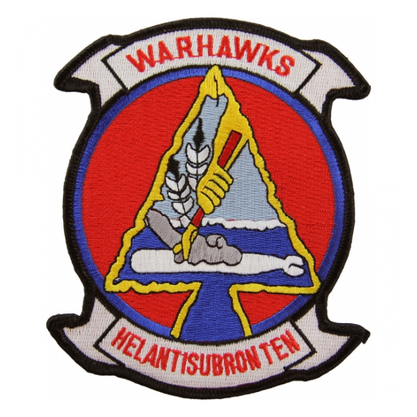 Navy Helicopter Anti-Submarine Squadron HS-10 Warhawks