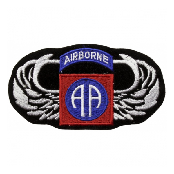82nd Airborne Division wings Patch