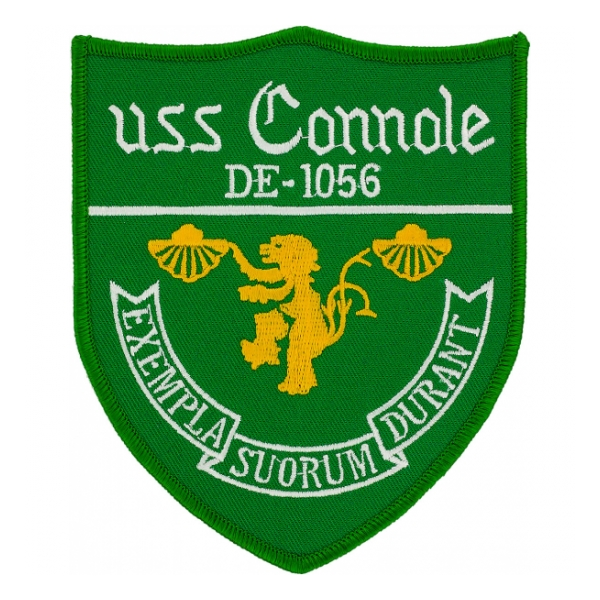USS Connole DE-1056 Ship Patch