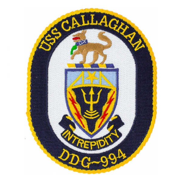 USS Callaghan DDG-994 Ship Patch
