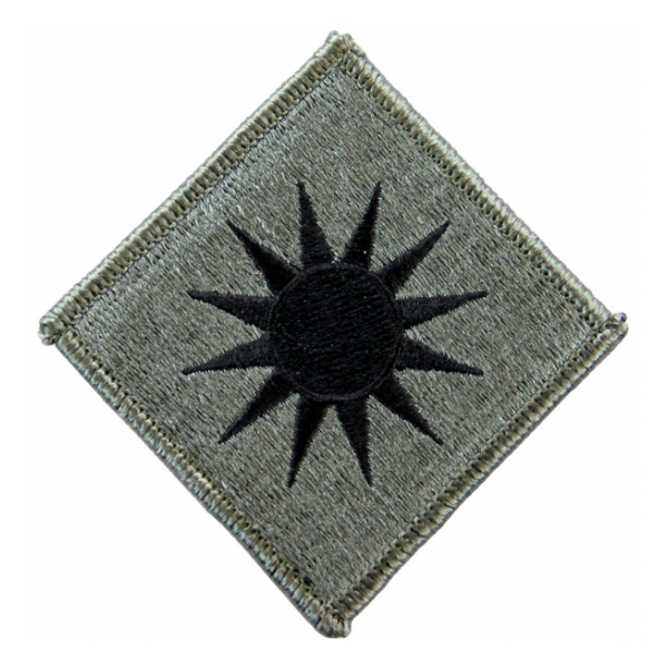 40th Infantry Division Patch Foliage Green (Velcro Backed)