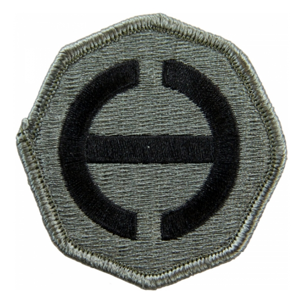Hawaii Command Patch Foliage Green (Velcro Backed)