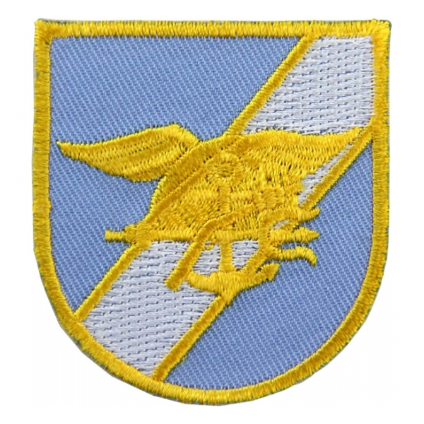 Seal Team Flash Blue and Gold