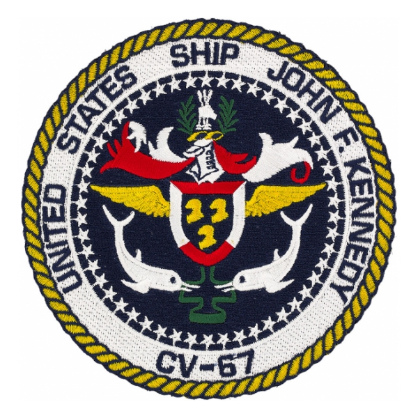 USS John F. Kennedy CV-67 Ship Patch