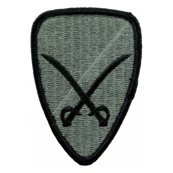 6th Cavalry Brigade Patch Foliage Green (Velcro Backed)