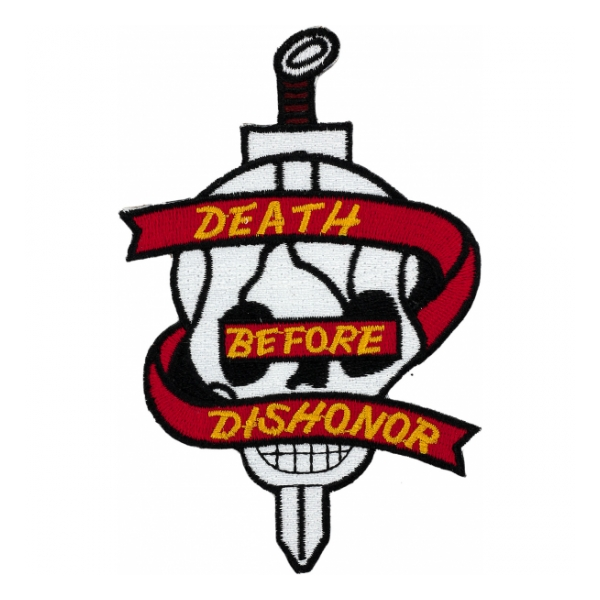USMC Death Before Dishonor Patch