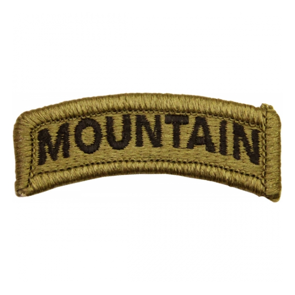 Mountain Tab Scorpion / OCP Patch With Hook Fastener