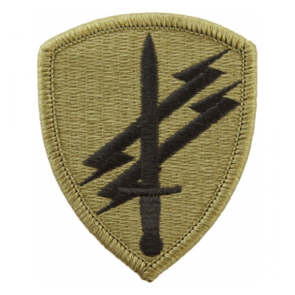 Civil Affairs & Psychological Operations Command Scorpion / OCP Patch With Hook Fastener