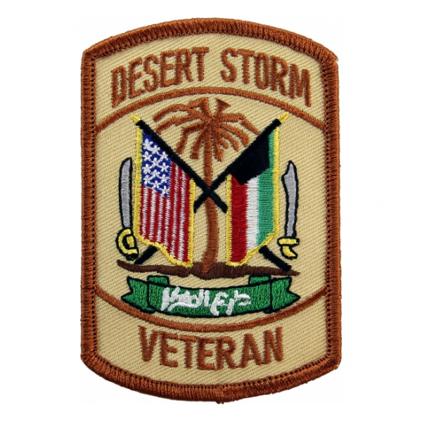 Desert Storm Veteran Patch