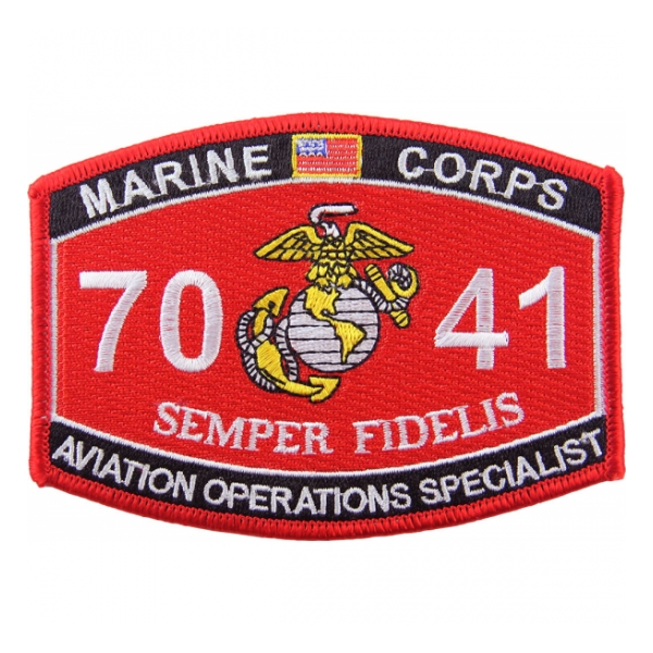USMC MOS 7041 Aviation Operations Specialist Patch