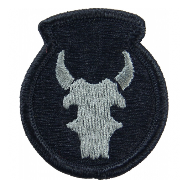 34th Infantry Division Patch Foliage Green (Velcro Backed)
