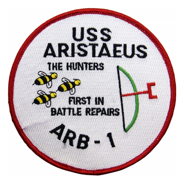 USS Aristaeus ARB-1 Ship Patch