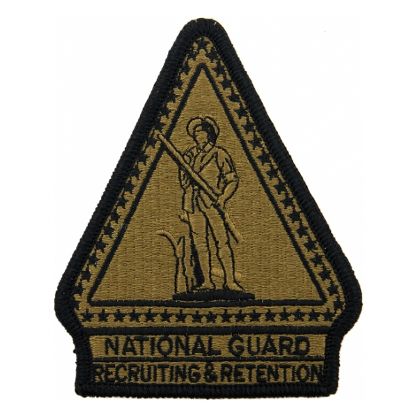 National Guard Recruiting & Retention Scorpion / OCP Patch With Hook Fastener