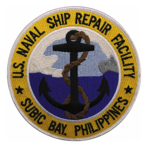 Naval Ship Repair Facility Subic Bay, Philippines Patch