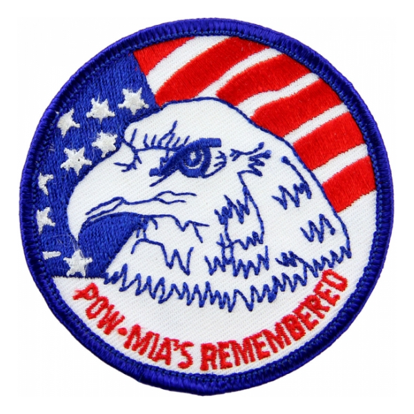 POW * MIA's Remembered Patch