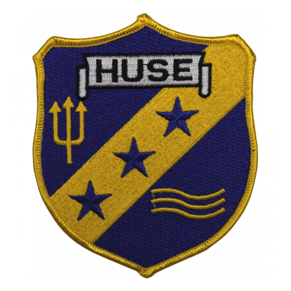 USS Huse DE-145 Ship Patch