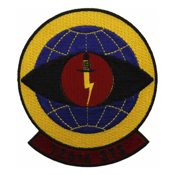 125th Special Tactics Squadron Patch