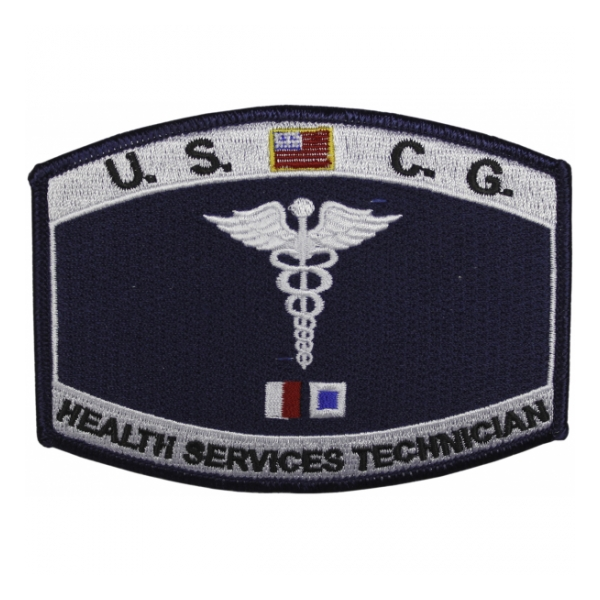 USCG Rate Health Services Technician Patch