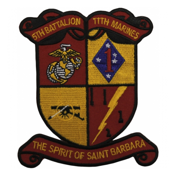 5th Battalion / 11th Marines Patch