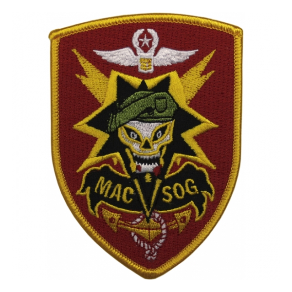 MAC V SOG Army Special Forces Patch