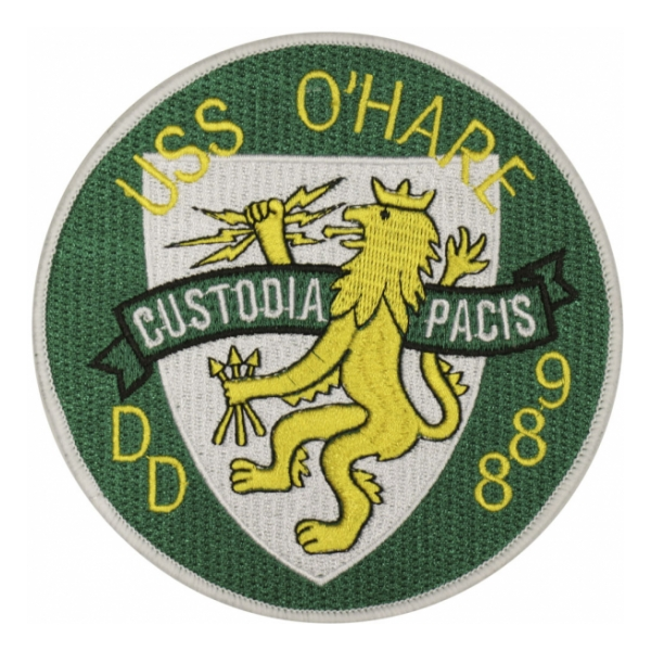 USS O'Hare DD-889 Ship Patch