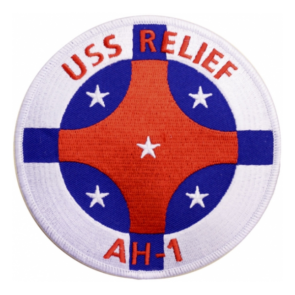 USS Relief AH-1 Ship Patch