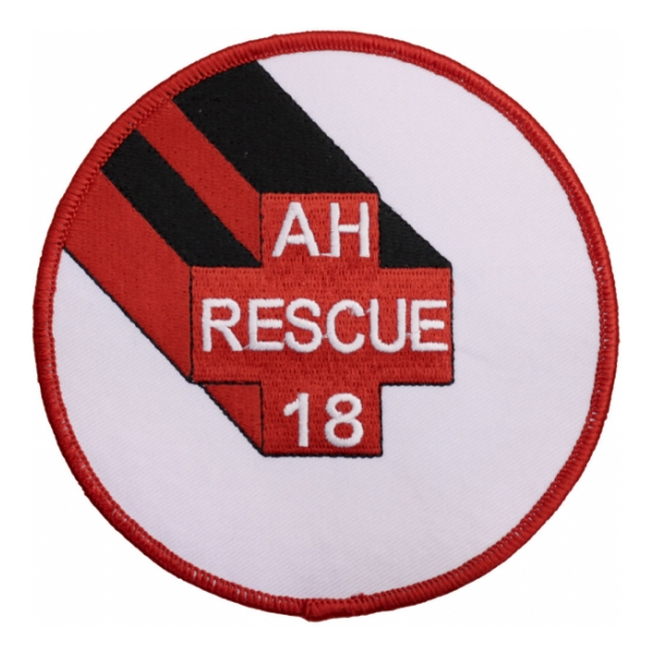 USS Rescue AH-18 Ship Patch