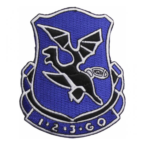 123rd Infantry Regiment Patch