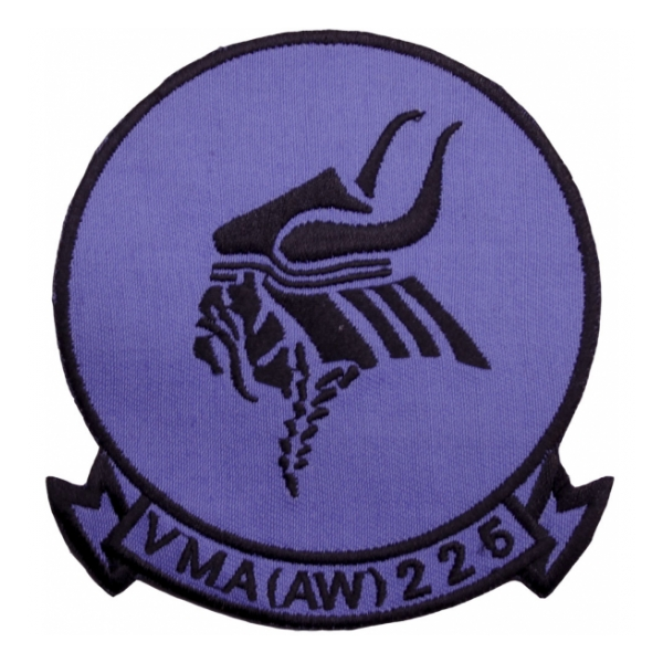 Marine All Weather Attack Squadron VMA(AW)-225 Patch