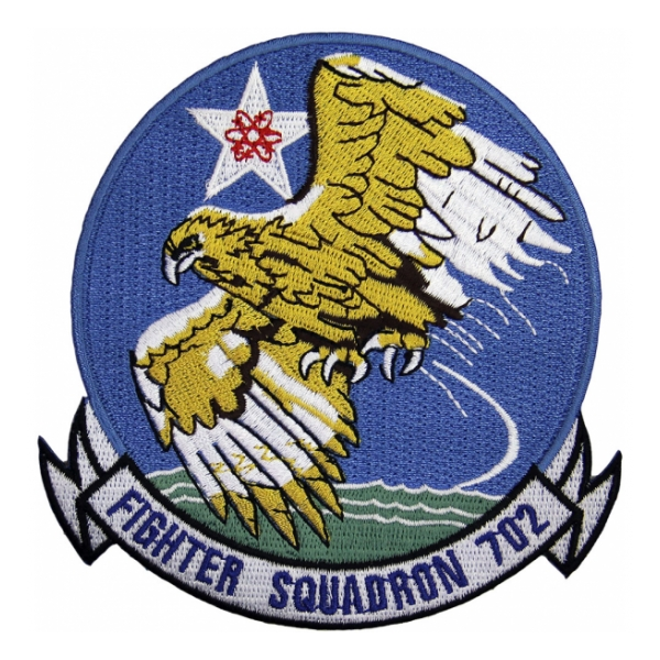 Navy Fighter Squadron VF-702 Patch