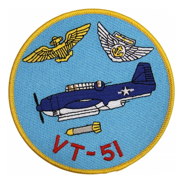 Navy Torpedo Bombing Squadron VT-51 Patch