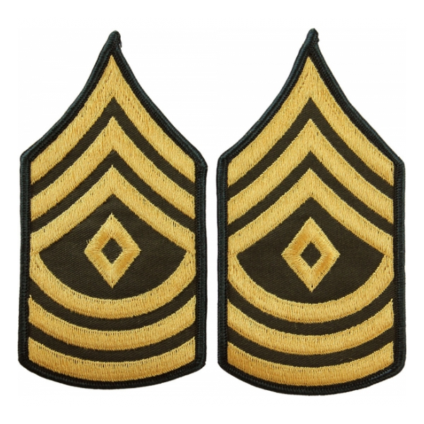 Army 1st Sergeant (Sleeve Chevron) (Male)