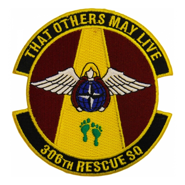 Air Force 306th Rescue Squadron Patch