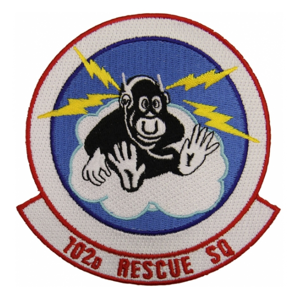 Air Force 102nd Rescue Squadron Patch