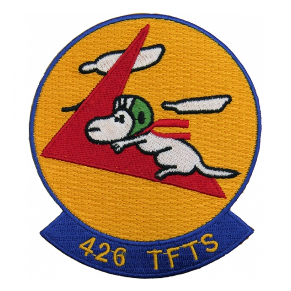 Air Force 426th Tactical Fighter Training Squadron Patch