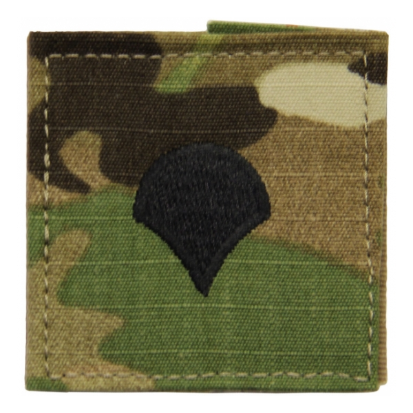 Army Scorpion Specialist Four E-4 Rank with Velcro Backing