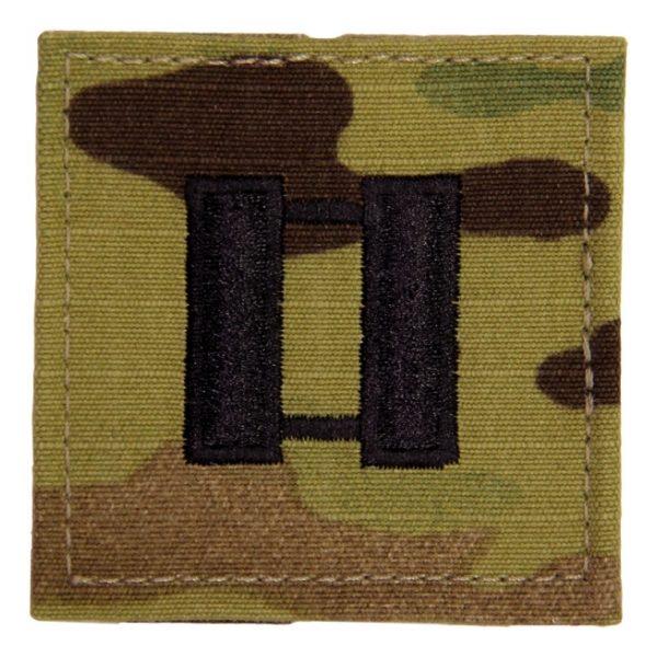 Army Scorpion Captain Rank with Velcro Backing