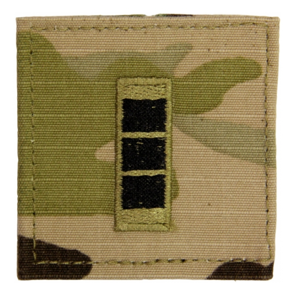 Army Scorpion Warrant Officer 3 Rank with Velcro Backing