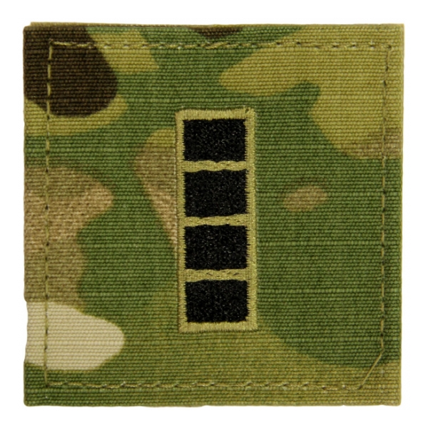 Army Scorpion Warrant Officer 4 Rank with Velcro Backing