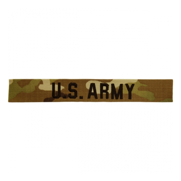U.S. Army Scorpion / OCP Name Tape with Sew-on