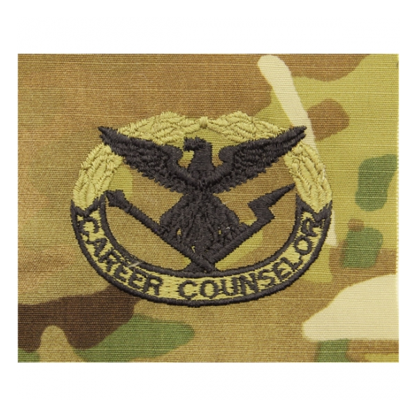 Army Scorpion Career Counsler Badge Sew-on