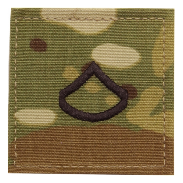 Army Scorpion Private First Class E-3 Rank Sew-on
