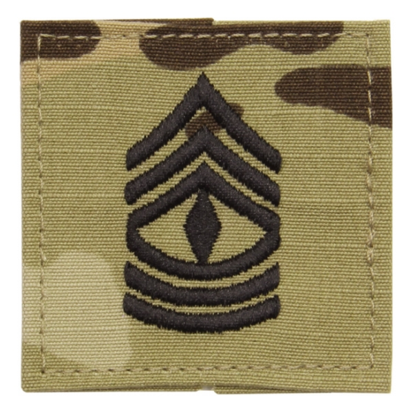 Army Scorpion First Sergeant E-8 Rank Sew-on