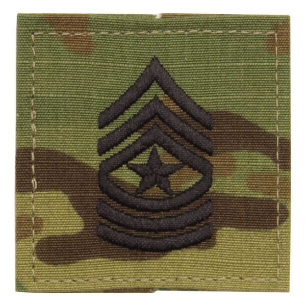Army Scorpion Sergeant Major E-9 Rank Sew-on