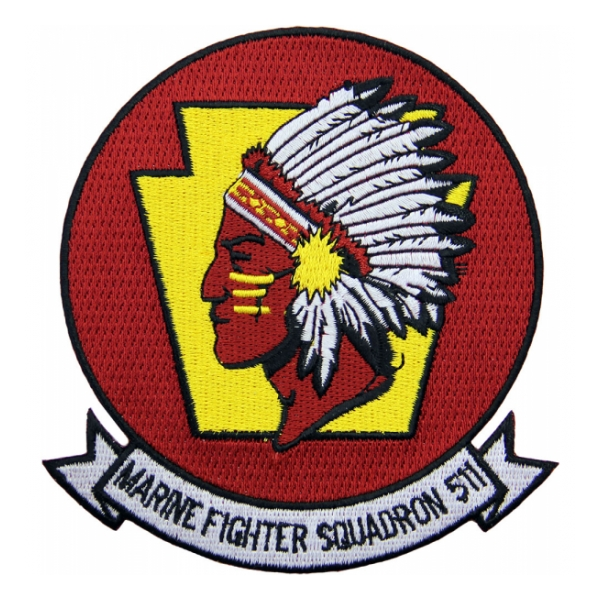 Marine Fighter Squadron VMF-511 Patch