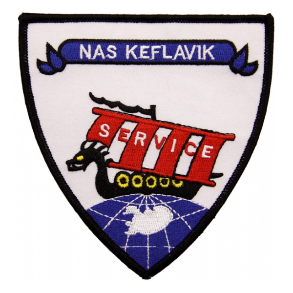 Naval Air Station Keflavik Iceland (Service) Patch