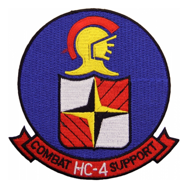 Helicopter Combat Support Squadron HC-4 Patch